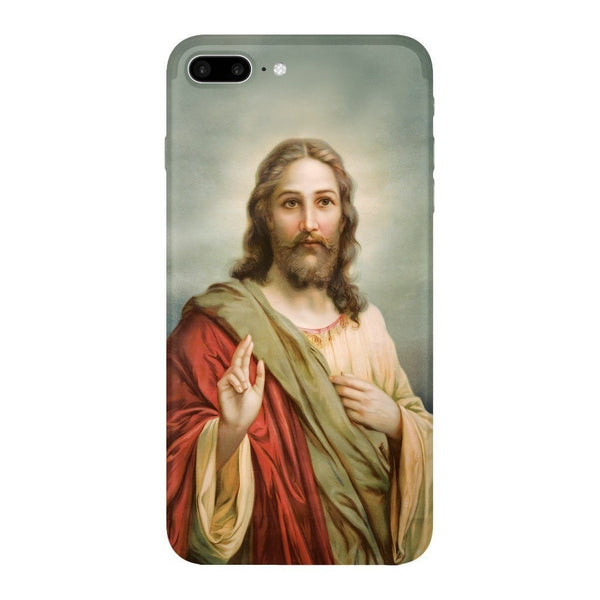 Holy Jesus Smartphone Case-Gooten-iPhone 7 Plus-| All-Over-Print Everywhere - Designed to Make You Smile