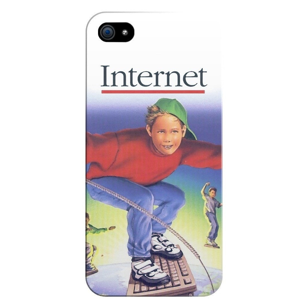 Internet Kids Smartphone Case-Gooten-iPhone 5/5s/SE-| All-Over-Print Everywhere - Designed to Make You Smile