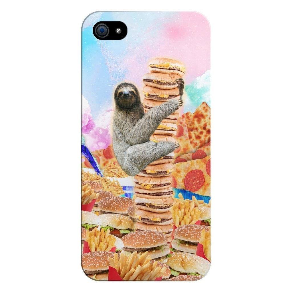 Junkfood Paradise Sloth Smartphone Case-Gooten-iPhone 5/5s/SE-| All-Over-Print Everywhere - Designed to Make You Smile