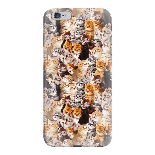 Kitty Invasion Smartphone Case-Gooten-iPhone 6 Plus/6s Plus-| All-Over-Print Everywhere - Designed to Make You Smile