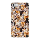 Kitty Invasion Smartphone Case-Gooten-iPhone 7-| All-Over-Print Everywhere - Designed to Make You Smile