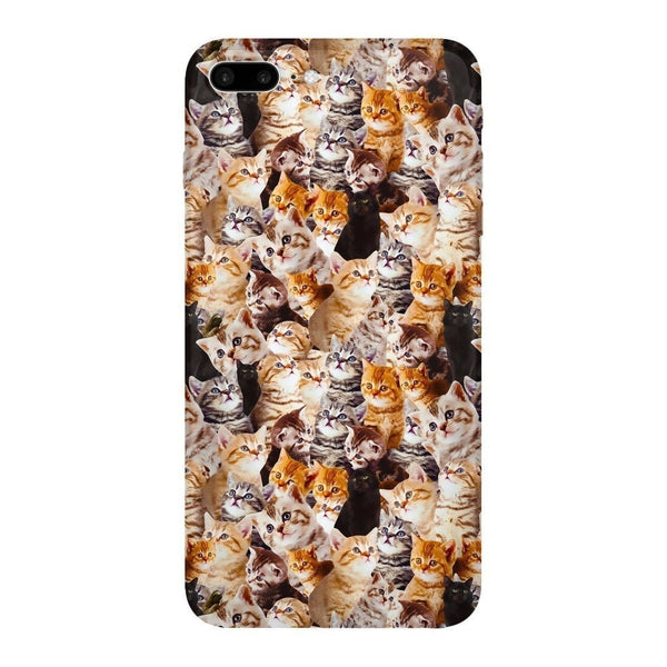 Kitty Invasion Smartphone Case-Gooten-iPhone 7 Plus-| All-Over-Print Everywhere - Designed to Make You Smile