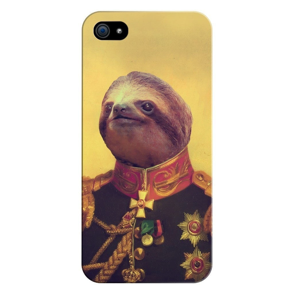 Lil' General Sloth Smartphone Case-Gooten-iPhone 5/5s/SE-| All-Over-Print Everywhere - Designed to Make You Smile