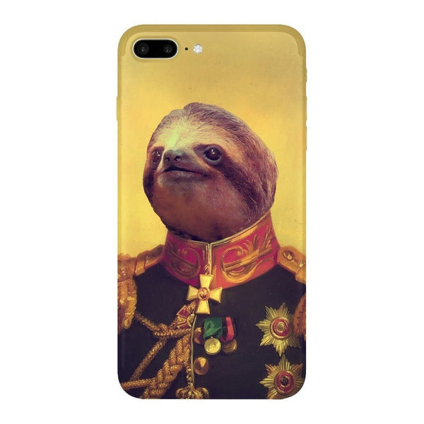 Lil' General Sloth Smartphone Case-Gooten-iPhone 7 Plus-| All-Over-Print Everywhere - Designed to Make You Smile