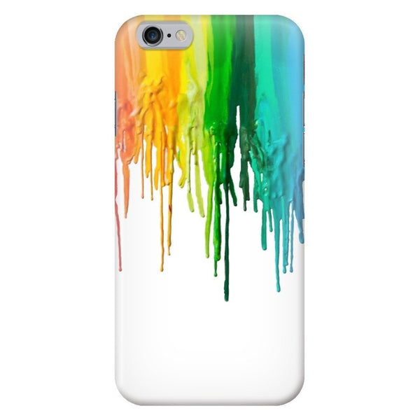 Melted Crayon Smartphone Case-Gooten-iPhone 6/6s-| All-Over-Print Everywhere - Designed to Make You Smile