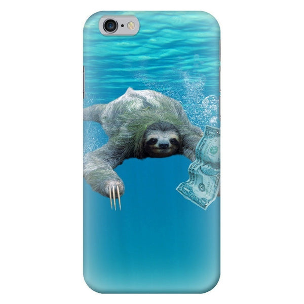 Nirvana Sloth Smartphone Case-Gooten-iPhone 6/6s-| All-Over-Print Everywhere - Designed to Make You Smile