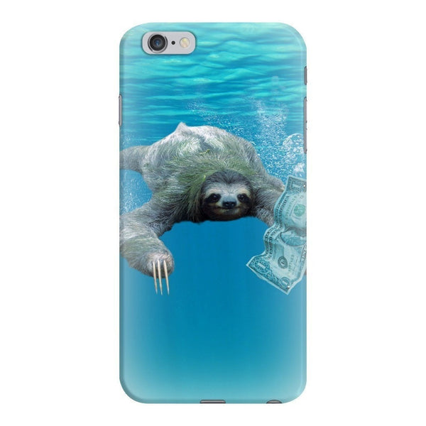 Nirvana Sloth Smartphone Case-Gooten-iPhone 6 Plus/6s Plus-| All-Over-Print Everywhere - Designed to Make You Smile