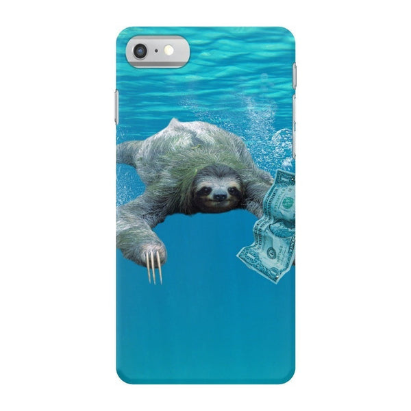 Nirvana Sloth Smartphone Case-Gooten-iPhone 7-| All-Over-Print Everywhere - Designed to Make You Smile
