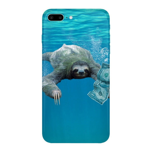 Nirvana Sloth Smartphone Case-Gooten-iPhone 7 Plus-| All-Over-Print Everywhere - Designed to Make You Smile