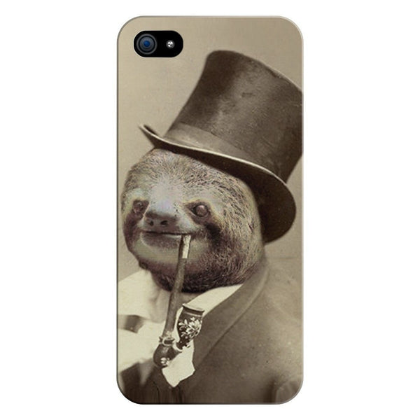 Old Money Flows Sloth Smartphone Case-Gooten-iPhone 5/5s/SE-| All-Over-Print Everywhere - Designed to Make You Smile