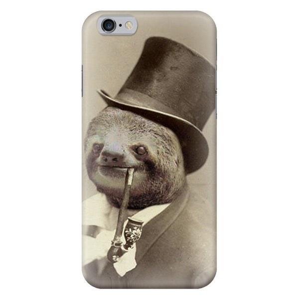 Old Money Flows Sloth Smartphone Case-Gooten-iPhone 6/6s-| All-Over-Print Everywhere - Designed to Make You Smile