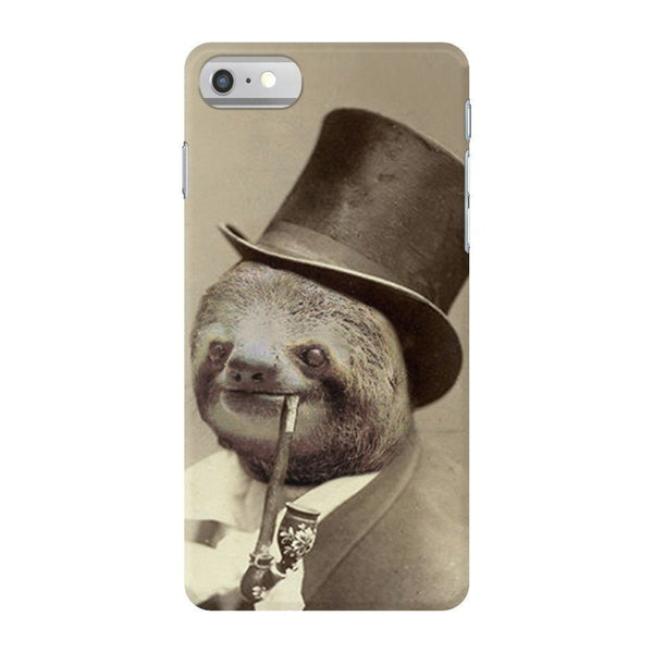 Old Money Flows Sloth Smartphone Case-Gooten-iPhone 7-| All-Over-Print Everywhere - Designed to Make You Smile