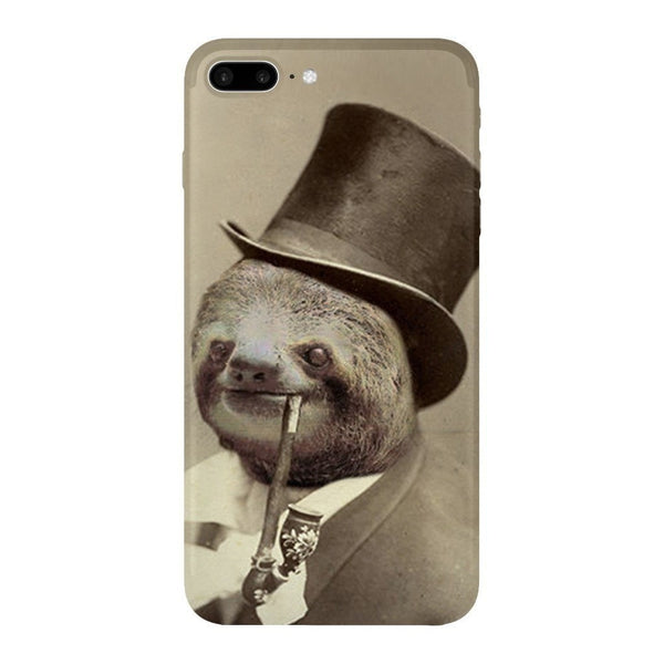 Old Money Flows Sloth Smartphone Case-Gooten-iPhone 7 Plus-| All-Over-Print Everywhere - Designed to Make You Smile