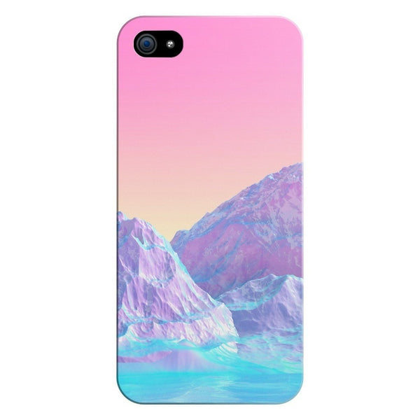 Pastel Mountains Smartphone Case-Gooten-iPhone 5/5s/SE-| All-Over-Print Everywhere - Designed to Make You Smile