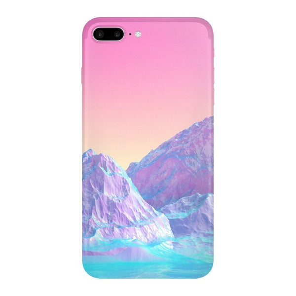 Pastel Mountains Smartphone Case-Gooten-iPhone 7 Plus-| All-Over-Print Everywhere - Designed to Make You Smile