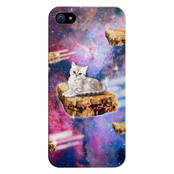 PB&J Galaxy Cat Smartphone Case-Gooten-iPhone 5/5s/SE-| All-Over-Print Everywhere - Designed to Make You Smile