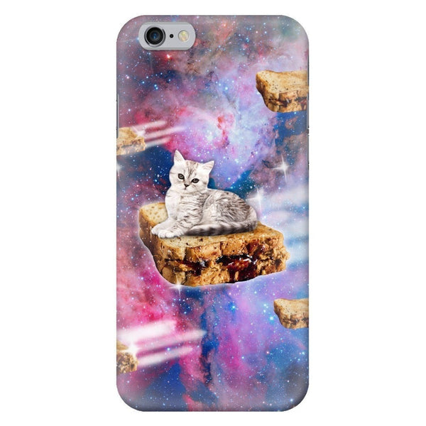 PB&J Galaxy Cat Smartphone Case-Gooten-iPhone 6/6s-| All-Over-Print Everywhere - Designed to Make You Smile