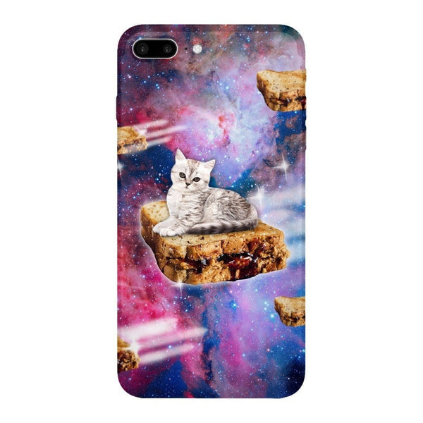 PB&J Galaxy Cat Smartphone Case-Gooten-iPhone 7 Plus-| All-Over-Print Everywhere - Designed to Make You Smile