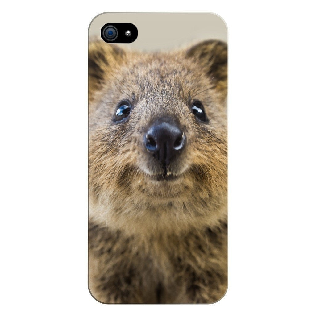 Quokka Face Smartphone Case-Gooten-iPhone 5/5s/SE-| All-Over-Print Everywhere - Designed to Make You Smile
