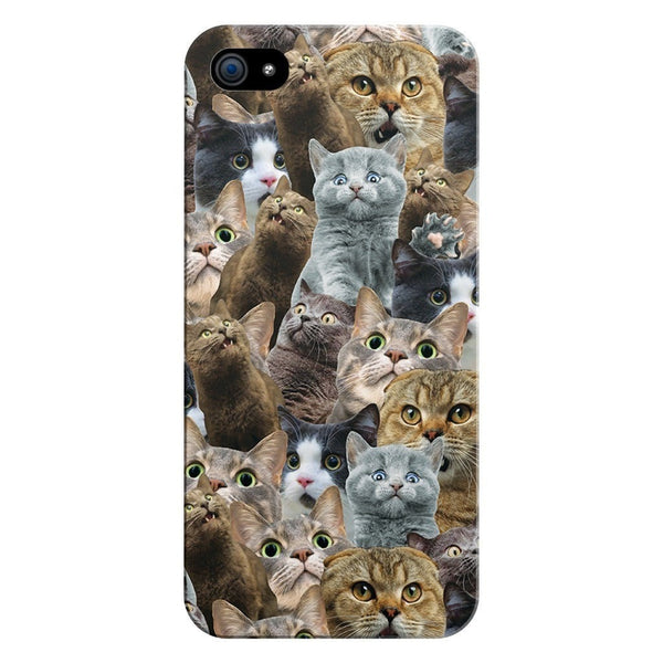 Scaredy Cat Invasion Smartphone Case-Gooten-iPhone 5/5s/SE-| All-Over-Print Everywhere - Designed to Make You Smile