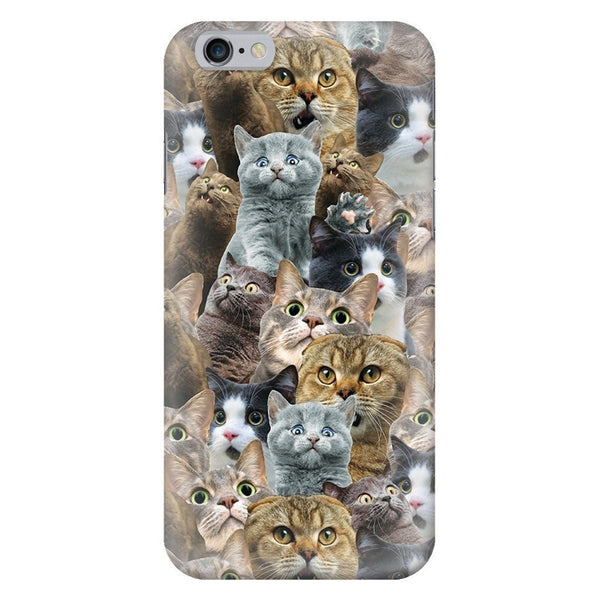 Scaredy Cat Invasion Smartphone Case-Gooten-iPhone 6/6s-| All-Over-Print Everywhere - Designed to Make You Smile