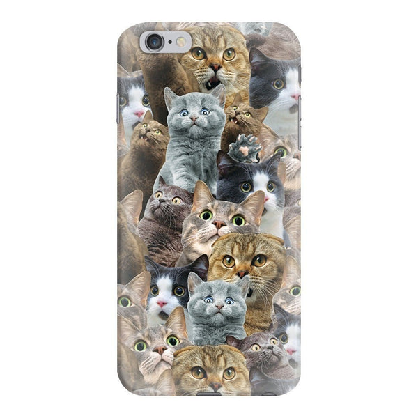 Scaredy Cat Invasion Smartphone Case-Gooten-iPhone 6 Plus/6s Plus-| All-Over-Print Everywhere - Designed to Make You Smile