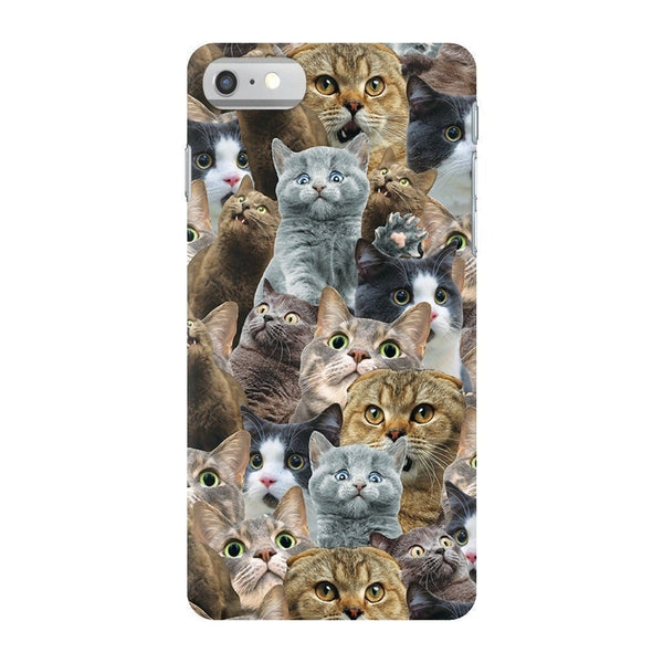 Scaredy Cat Invasion Smartphone Case-Gooten-iPhone 7-| All-Over-Print Everywhere - Designed to Make You Smile