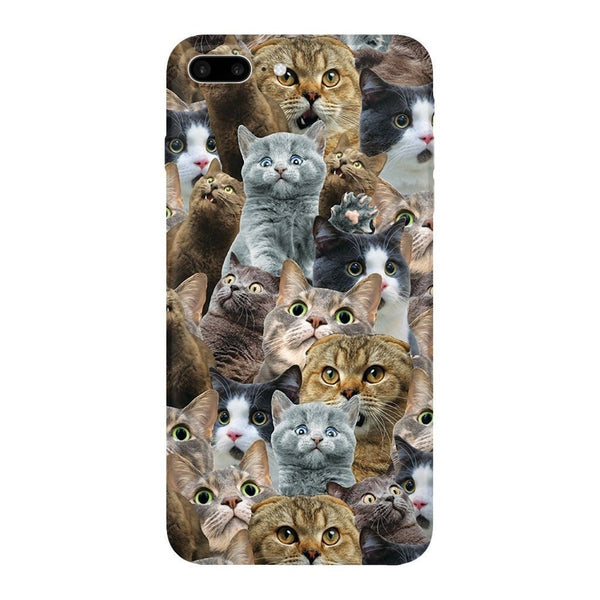 Scaredy Cat Invasion Smartphone Case-Gooten-iPhone 7 Plus-| All-Over-Print Everywhere - Designed to Make You Smile