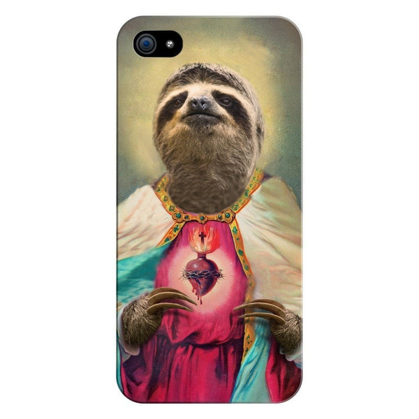 Sloth Jesus Smartphone Case-Gooten-iPhone 5/5s/SE-| All-Over-Print Everywhere - Designed to Make You Smile