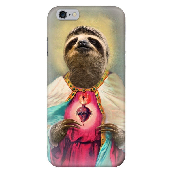 Sloth Jesus Smartphone Case-Gooten-iPhone 6/6s-| All-Over-Print Everywhere - Designed to Make You Smile