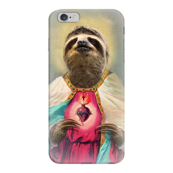 Sloth Jesus Smartphone Case-Gooten-iPhone 6 Plus/6s Plus-| All-Over-Print Everywhere - Designed to Make You Smile