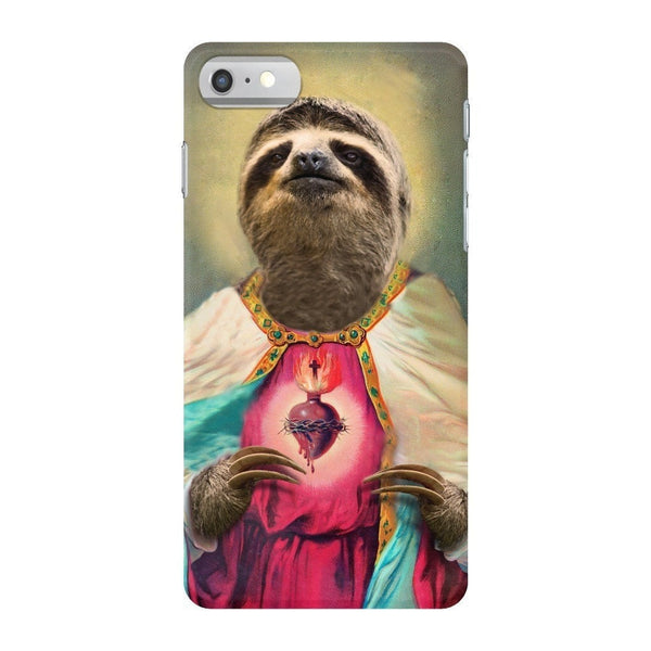 Sloth Jesus Smartphone Case-Gooten-iPhone 7-| All-Over-Print Everywhere - Designed to Make You Smile