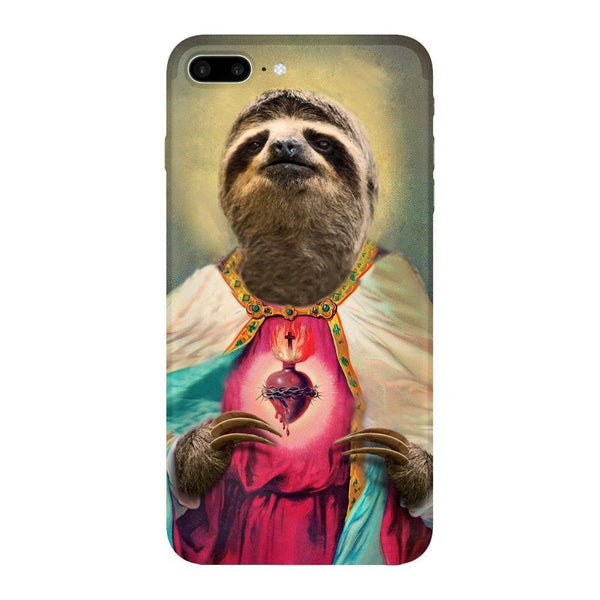 Sloth Jesus Smartphone Case-Gooten-iPhone 7 Plus-| All-Over-Print Everywhere - Designed to Make You Smile