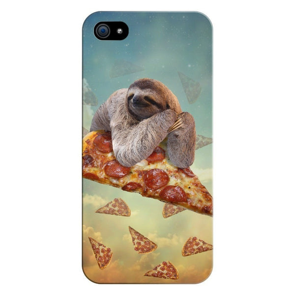 Sloth Pizza Smartphone Case-Gooten-iPhone 5/5s/SE-| All-Over-Print Everywhere - Designed to Make You Smile