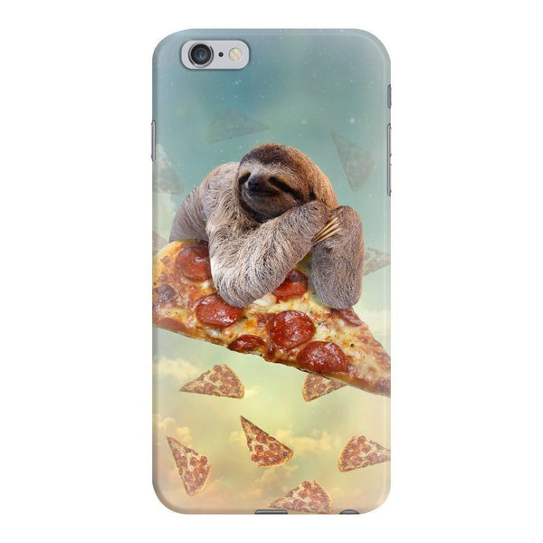 Sloth Pizza Smartphone Case-Gooten-iPhone 6 Plus/6s Plus-| All-Over-Print Everywhere - Designed to Make You Smile