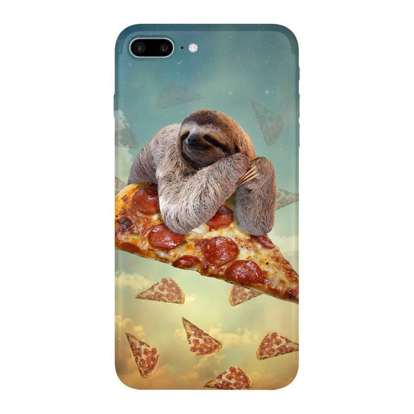 Sloth Pizza Smartphone Case-Gooten-iPhone 7 Plus-| All-Over-Print Everywhere - Designed to Make You Smile