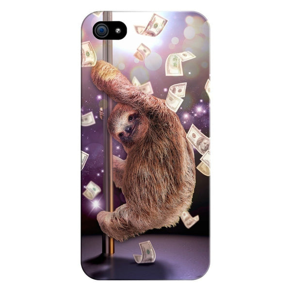 Stripper Sloth Smartphone Case-Gooten-iPhone 5/5s/SE-| All-Over-Print Everywhere - Designed to Make You Smile