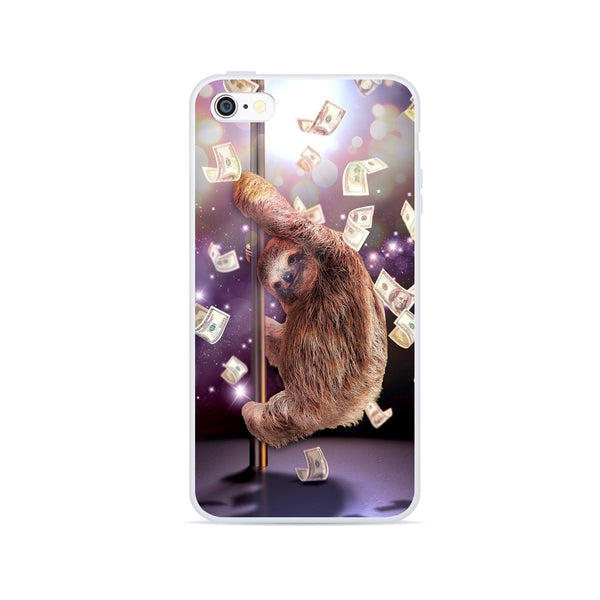 Stripper Sloth Smartphone Case-Gooten-iPhone 6/6s-| All-Over-Print Everywhere - Designed to Make You Smile