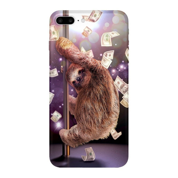Stripper Sloth Smartphone Case-Gooten-iPhone 7 Plus-| All-Over-Print Everywhere - Designed to Make You Smile