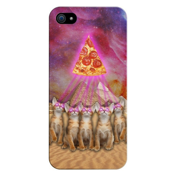 The Great Pyramid of Pizza Smartphone Case-Gooten-iPhone 5/5s/SE-| All-Over-Print Everywhere - Designed to Make You Smile