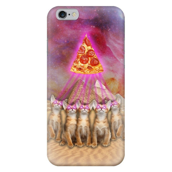The Great Pyramid of Pizza Smartphone Case-Gooten-iPhone 6/6s-| All-Over-Print Everywhere - Designed to Make You Smile