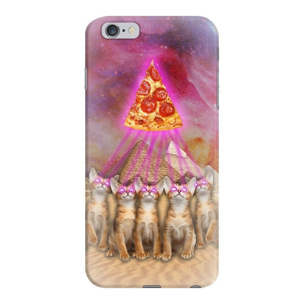 The Great Pyramid of Pizza Smartphone Case-Gooten-iPhone 6 Plus/6s Plus-| All-Over-Print Everywhere - Designed to Make You Smile