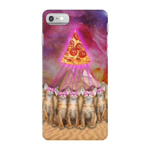 The Great Pyramid of Pizza Smartphone Case-Gooten-iPhone 7-| All-Over-Print Everywhere - Designed to Make You Smile