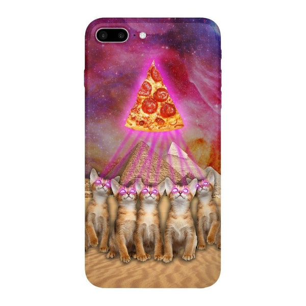 The Great Pyramid of Pizza Smartphone Case-Gooten-iPhone 7 Plus-| All-Over-Print Everywhere - Designed to Make You Smile