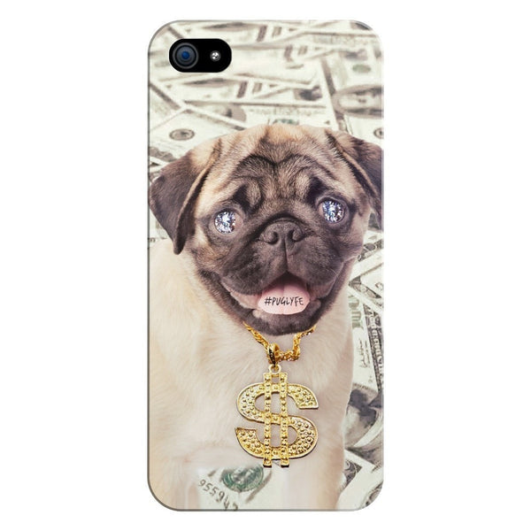Thug Pug Smartphone Case-Gooten-iPhone 5/5s/SE-| All-Over-Print Everywhere - Designed to Make You Smile