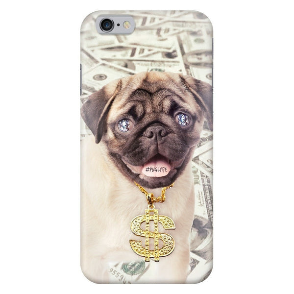 Thug Pug Smartphone Case-Gooten-iPhone 6/6s-| All-Over-Print Everywhere - Designed to Make You Smile