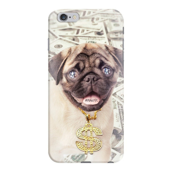 Thug Pug Smartphone Case-Gooten-iPhone 6 Plus/6s Plus-| All-Over-Print Everywhere - Designed to Make You Smile