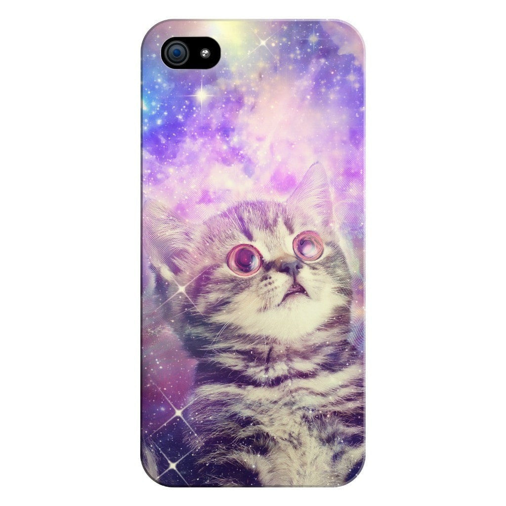 Trippin' Kitty Kat Smartphone Case-Gooten-iPhone 5/5s/SE-| All-Over-Print Everywhere - Designed to Make You Smile