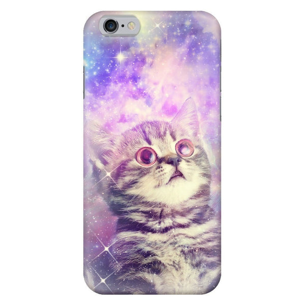 Trippin' Kitty Kat Smartphone Case-Gooten-iPhone 6/6s-| All-Over-Print Everywhere - Designed to Make You Smile