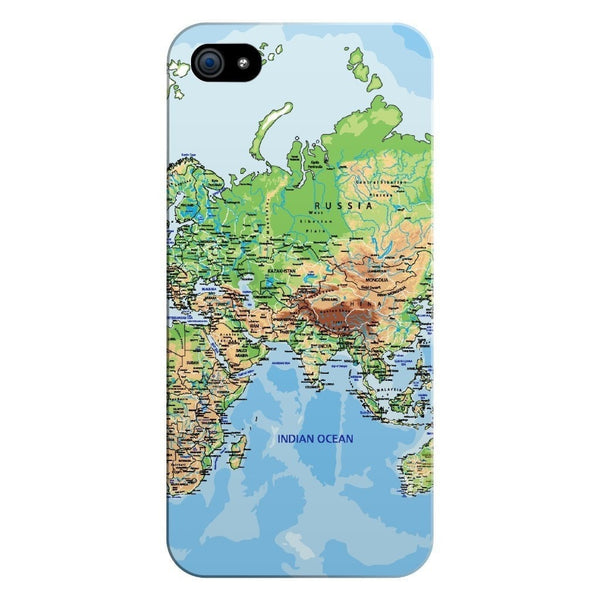 World Map Europe & Asia Smartphone Case-Gooten-iPhone 5/5s/SE-| All-Over-Print Everywhere - Designed to Make You Smile